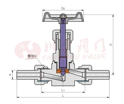 j23w针型阀图片
