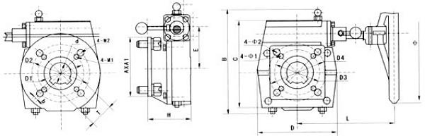 手轮机构结构图